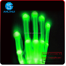 hand gloves with led optical fiber high quality dancing light up glove