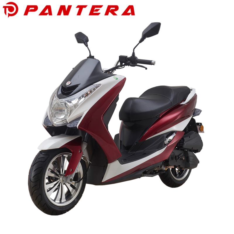 2017 Wholesale Two Wheel Scooter 125cc Gas Motorcycle
