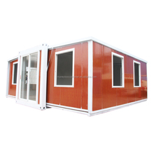 Newest designed prefabricated shipping expandable container house building