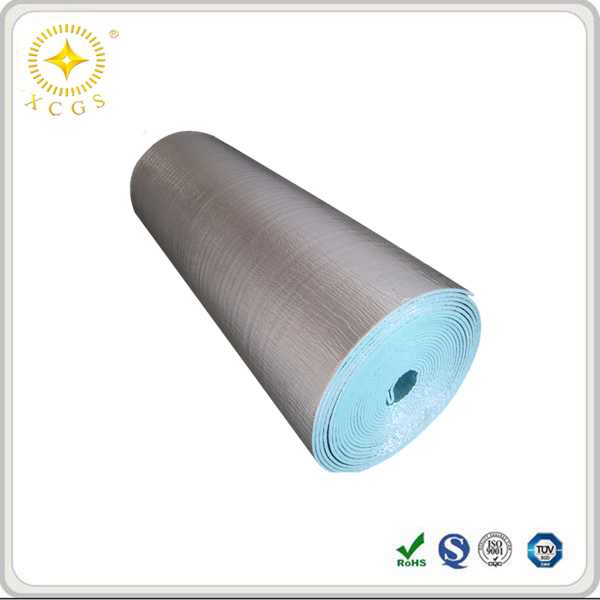 Fireproof Aluminum Foil Foam Insulation Roll/Polyolefin Foam Insulation