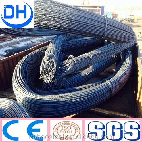 Tangshan China steel rebar, deformed steel bar, iron rods for construction/building