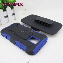 hard pc case for Samsung galaxy S5 active holster combo case