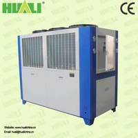Hot heat exchange equipment industrial glycol scrol low temperature chillers