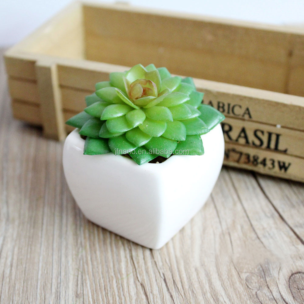 Home bonsai supplies realistic plastic sempervivum tectorum artificial succulent plant
