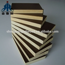 brown / black film faced shuttering plywood