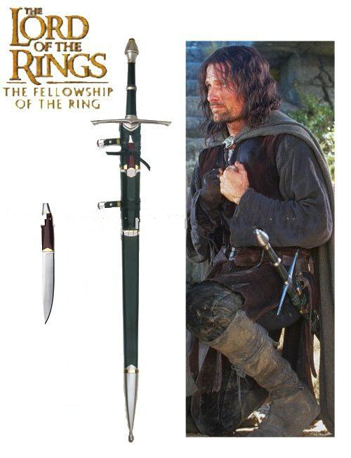 "Movie sword - The Lord of the Rings swords medieval sword / 50 3/4"" BY034-CU"
