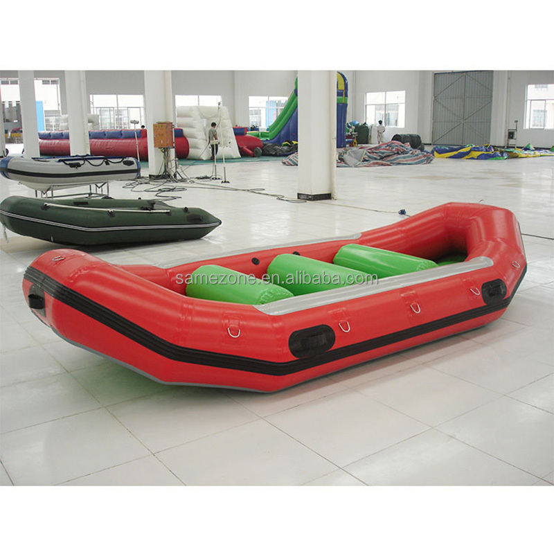 Inflatable float rubber pvc military patrol fishing boat for sale