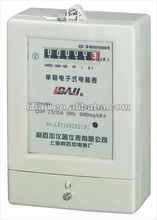 single phase electricity meters electric current meters transparent case