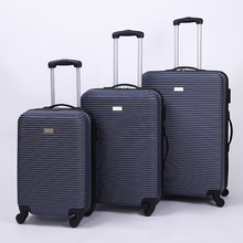 Wholesale custom lightweight sport 3pcs wheels rolling cabin abs pc hard case carry on suitcase travel smart trolley luggage set