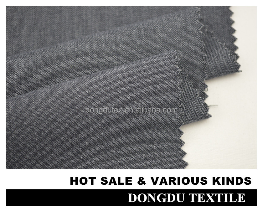 Hot sale dubai polyester viscose fabric for men's pant in shaoxing