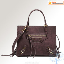 lovely design Fashion faux leather ladies handbag fancy bags women designer bag