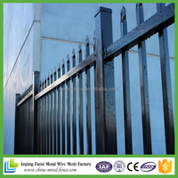 2.1x2.4m Australian Standard fence panels / cheap fence / wrought iron fence