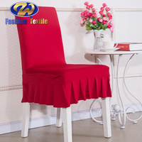 Kitchen spandex dining chair seat covers for sale