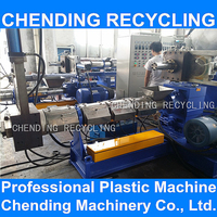 CHENDING pp pe plastic film recycling granulation making machine