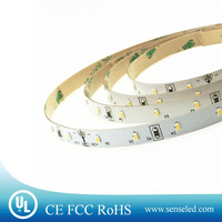 UL Listed Nonwaterproof 24V 2.16W 18LED 216LM Per Foot 16.4FT Roll Pure White 5000K 3014 SMD LED CRI 90 LED Strip