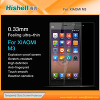 Tempered glass mobile phone screen protector for Xiaomi M3