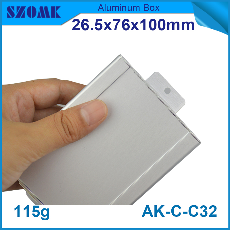 Metal aluminum electronic shocker enclosures for electronics project box