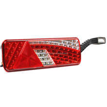 100% Waterproof LED Trailer Truck Rear Combination Tail Lights Multifunction Rear Lamps E-mark Approval