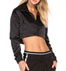 Wholesale high quality women oversized hot sale sexy gym cropped top hoodies