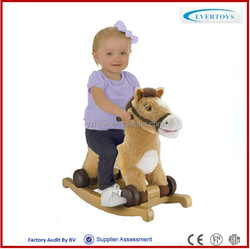 toy horse on wheels toy horse for kids ride on horse toy