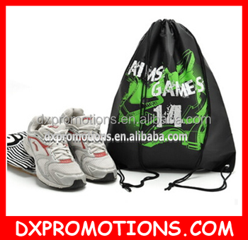 sport drawstring backpack/customized drawstring sports backpack