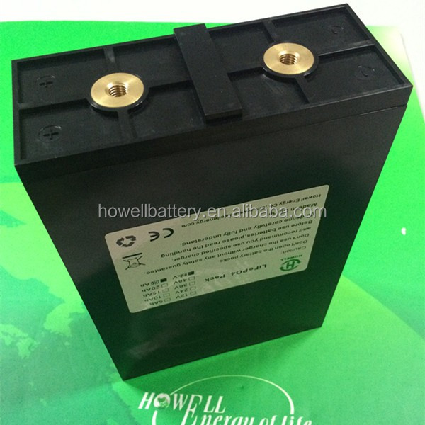 High Capacity lithium batteries LiFepo4 high capacity battery for solar storage