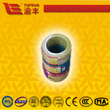 single core solid conductor pvc insulation cable/BV copper wire with certificates CE,RoHS,CB ect