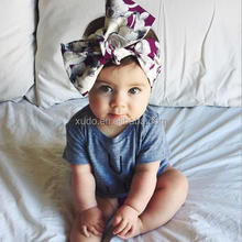 Wholesale Handmade Full Fabric Baby Print Fruit <strong>Headband</strong>