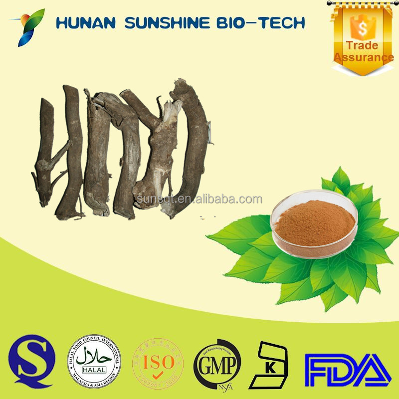 Medicinal Herbs Eleutheroside B+E Siberian Ginseng Extract Powder for Improving Kidney Function