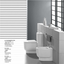 strap sanitary ware floor mounted two piece wc ceramic toilet