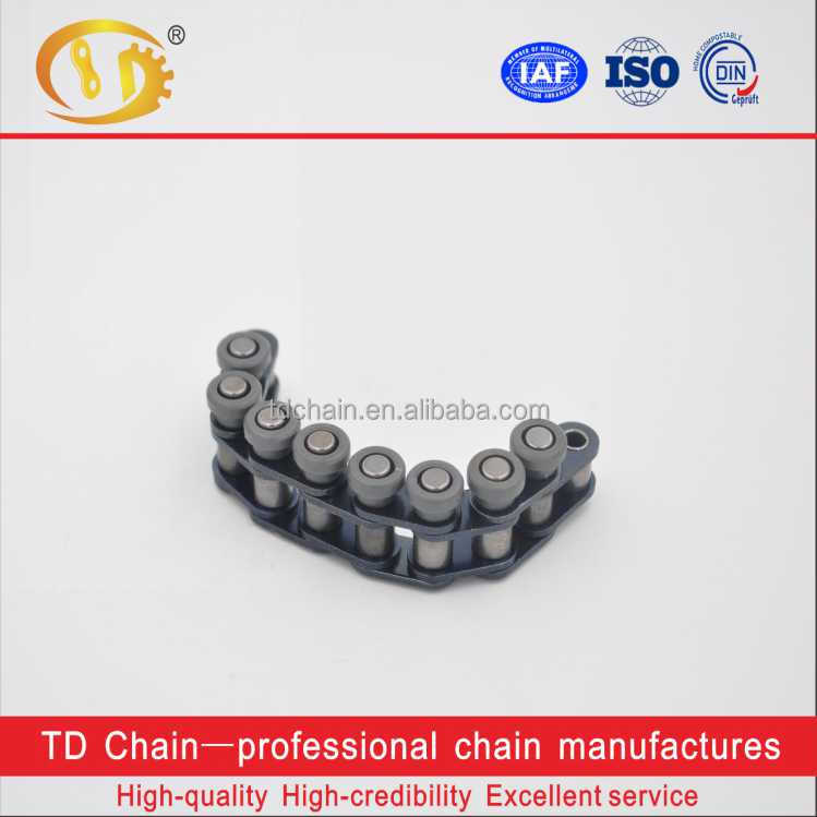 Short Pitch Precision Single Stainless Conveyor Chain Attachment