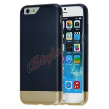High Quality Hot Sell Detachable Plastic Bumper 2 In 1 Case For Iphone 6