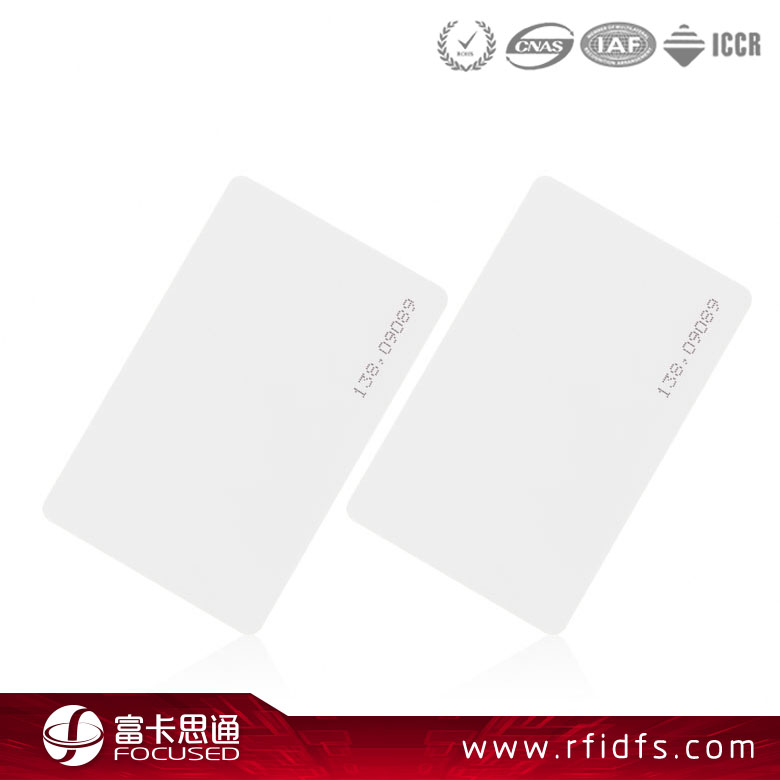 Low Cost PET Hf Ntag215 Blank Chip Key Cards For Door