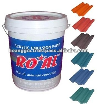 Emulsion Paint for Exterior