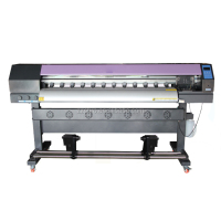 1.6M high quality large format cheap eco solvent printer with Epson New X5 printhead