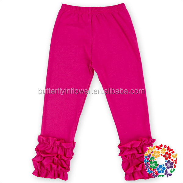 Hot Sell Items Baby Clothes Cotton Toddler Newborn Baby Icing Ruffle Pants Wholesale Baby Kids Leggings