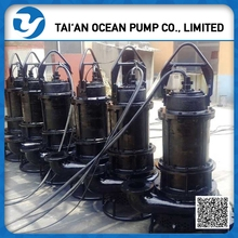 explosion-proof motor submersible dredging pump with controller