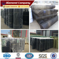 flower support black reinforced plastic wire mesh