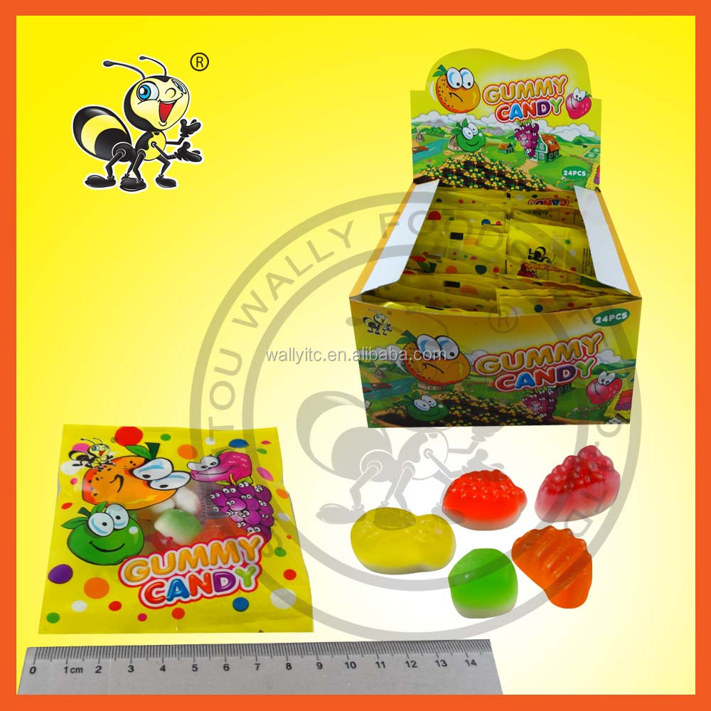 Chewing Juice Flavor Fruit Shaped Candy Chewy Sweets