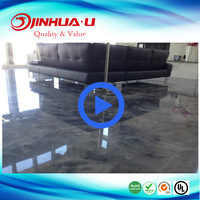 Epoxy Resin Coating for Anti Dust Concrete Epoxy Floor Paint and Metallic Floor