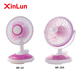 2017 Factory Sale High Quality OEM 8 inch Table Stand Electrical Mini Clip Fan