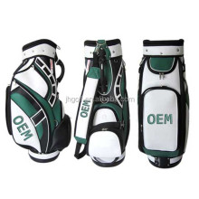 2016 new style custom leather golf bag