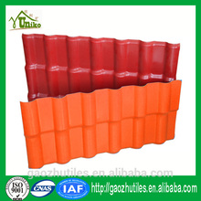 recyling green and environment friendly pvc spanish pvc roofing tile