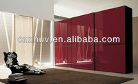 UV paint colors wood doors for wardrobe