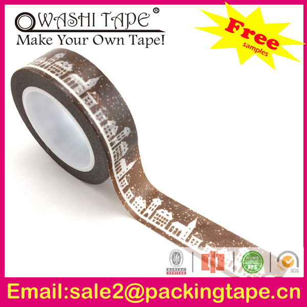 Wholesale amazing christmas decoration cotton fabric tape