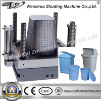 injection plastic dustbins molding