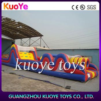 giant inflatable tropical 5k insane inflatable obstacle course