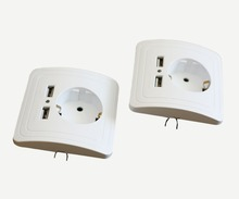 Ce and RoHS Approved 16A 250V France Different Types of Sockets