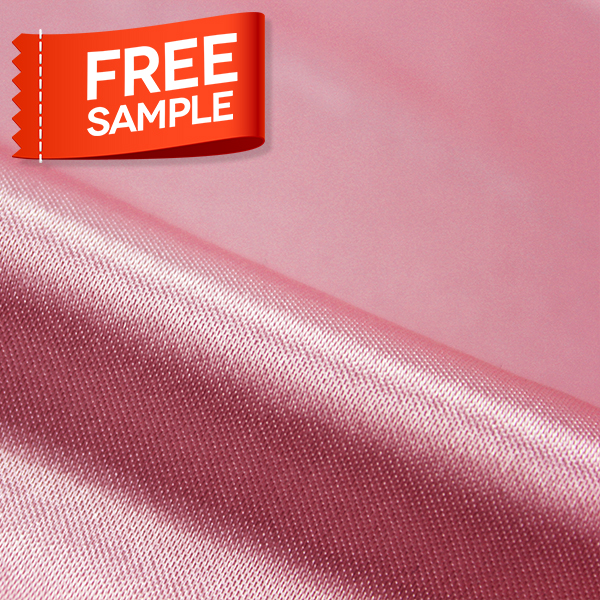 Wholesale Polyester Mesh Knitted Satin Milk Pure Woven Silk Fabric