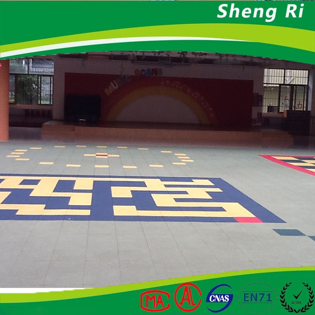anti slip suspended modular basketball pp sport flooring